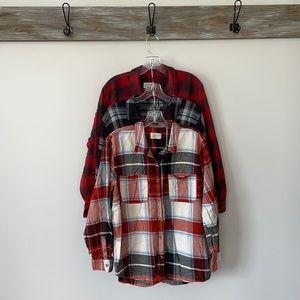 Universal Thread flannel shirt lot Fall Winter XL